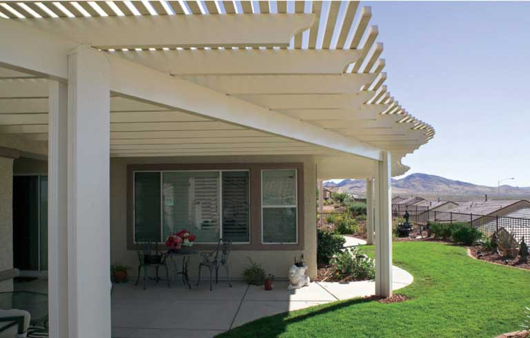 Delightful Alumawood Lattice Patio Covers | Albuquerque, NM | Dreamstyle Remodeling
