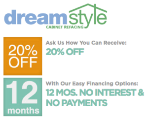 Ask us how you can receive 20% off or 12 months of no interest payments