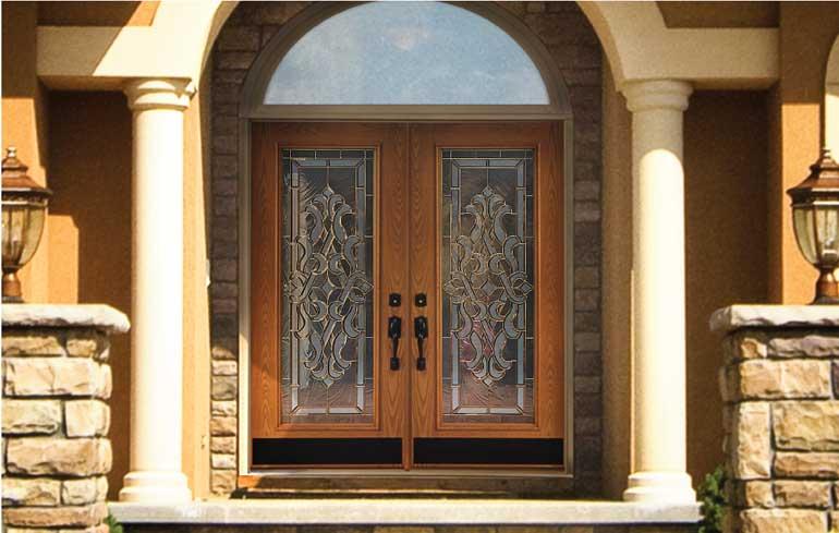 elegant entry door