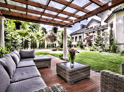 Patio Cover Ideas For Your Outdoor Spaces | Dreamstyle ... on Ideas For Patio Covers  id=42105