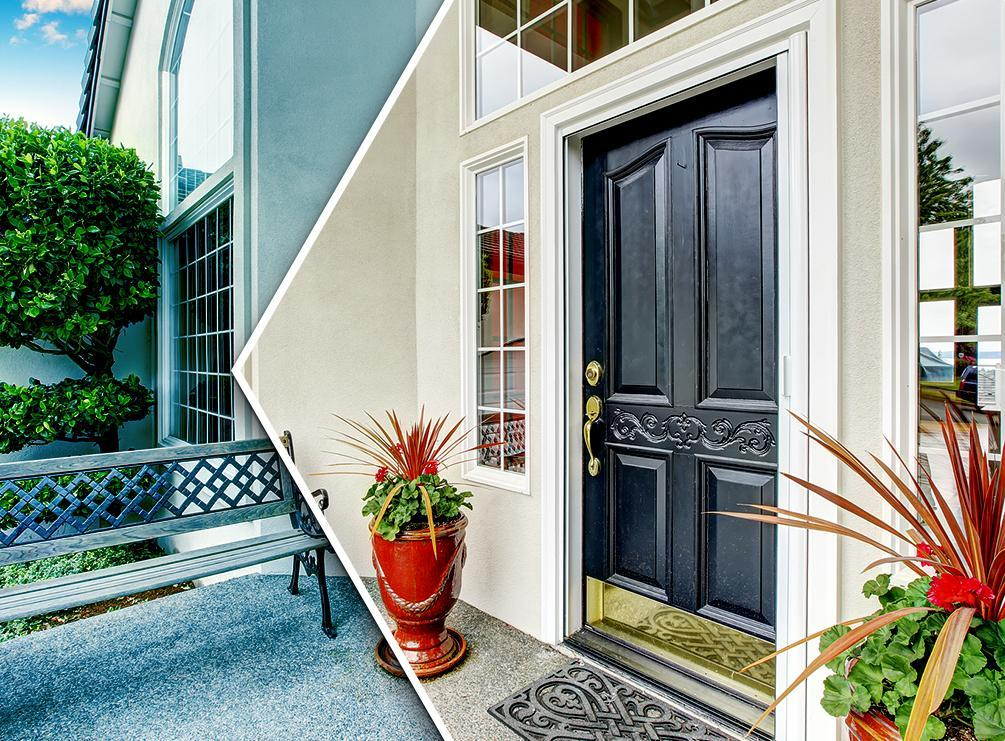 Top entry door colors that create a grand entrance for Grand entrance doors