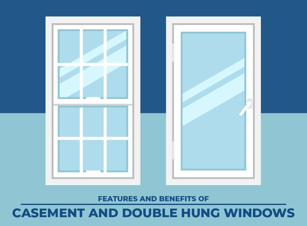 Features And Benefits Of Casement And Double Hung Windows