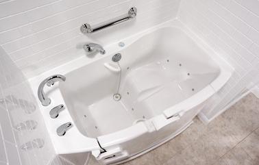 bath tub installation