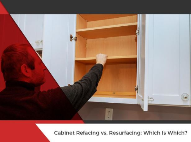 Cabinet Resurfacing Vs. Refacing