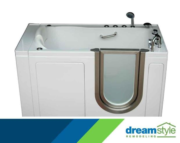 3 Benefits of Installing a Walk-In Tub